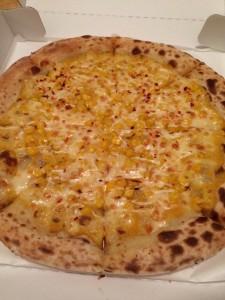 ナポリの窯 コーンピザ