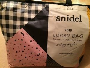 snidel スナイデル 2015 福袋
