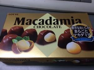 マカダミア チョコレート