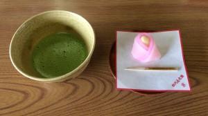 名古屋城 抹茶
