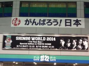 東京ドーム SHINee