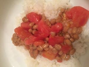 トマト納豆 クックパッド