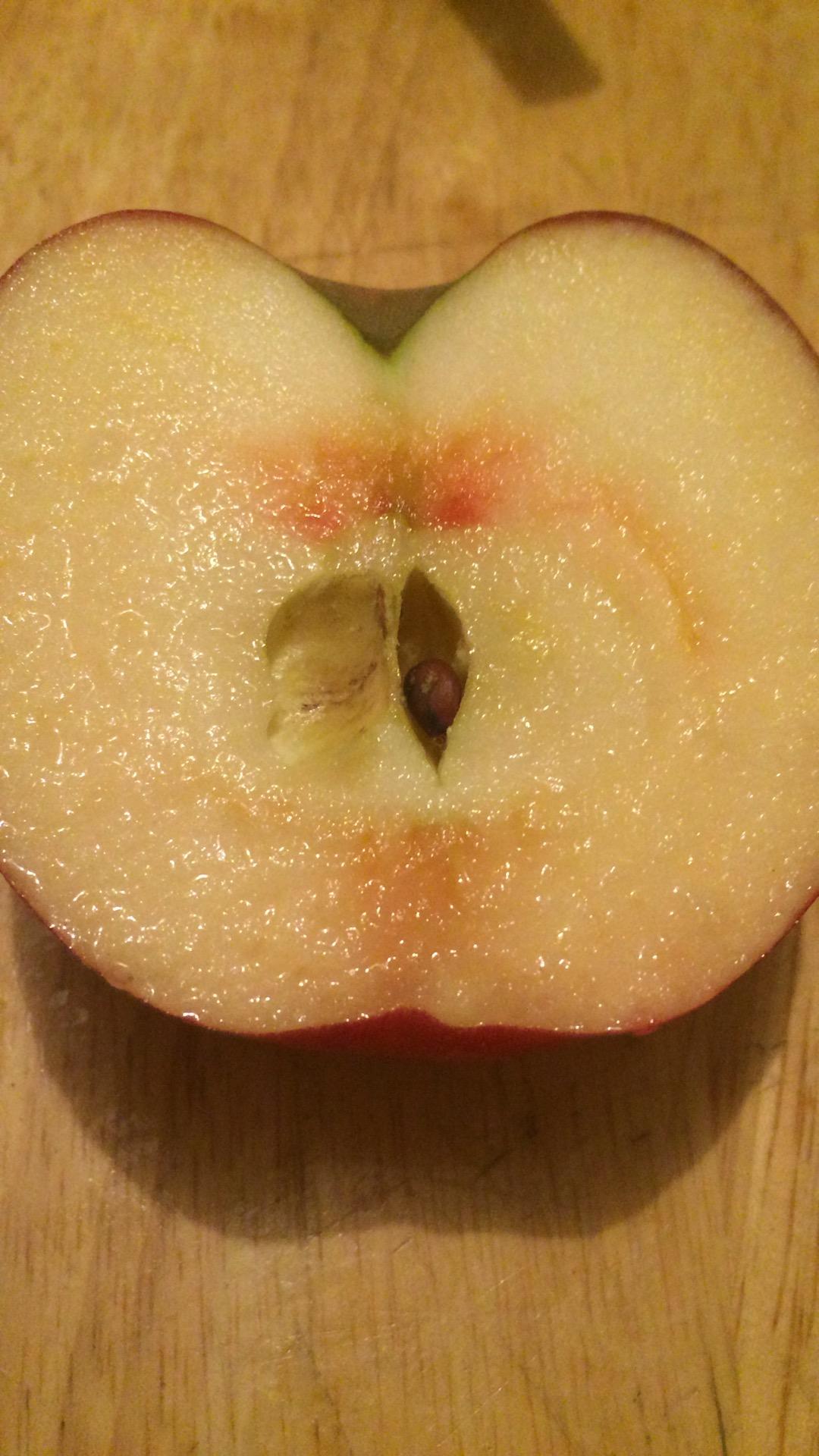 りんごが赤いよ…?