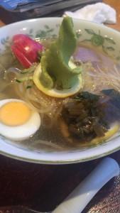 わさび冷麺