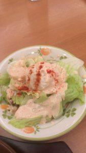 サイゼ ランチ サラダ