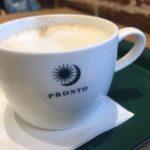 プロントのカフェラテ