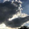 帰りの東京の雲
