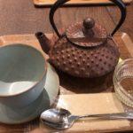 南部鉄器でお茶